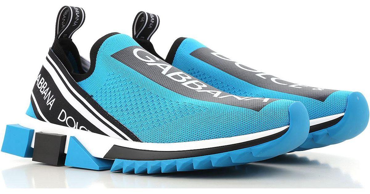 Dolce \u0026 Gabbana Neoprene Sneakers For