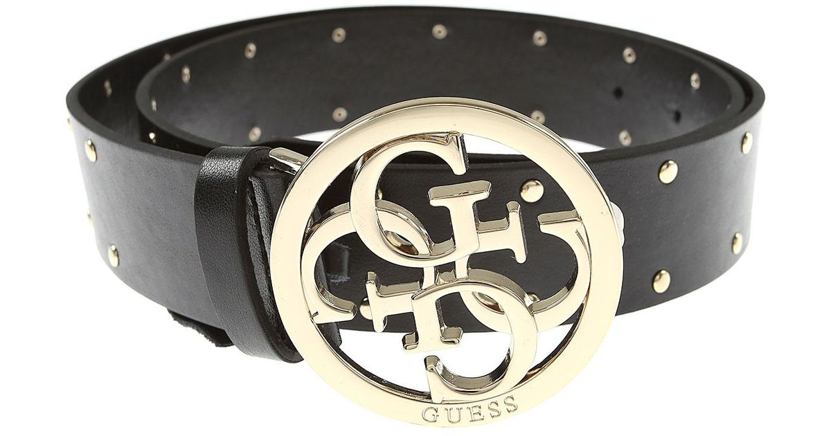 Guess Cinta donna fibbia con logo in ecopelle colore nero C20GU08