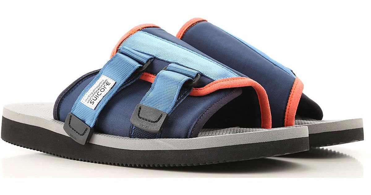 Suicoke Synthetic Sandals For Men On