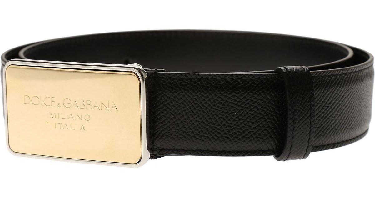 48edc13e4c ... sweden lyst dolce gabbana belts for men in black for men save 4.75  534f8 bb748