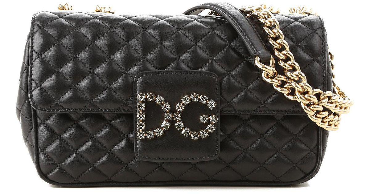 Femme En Gabbana Sac Dolceamp; Noir Coloris Bandoulière Lyst v7yYb6fgI