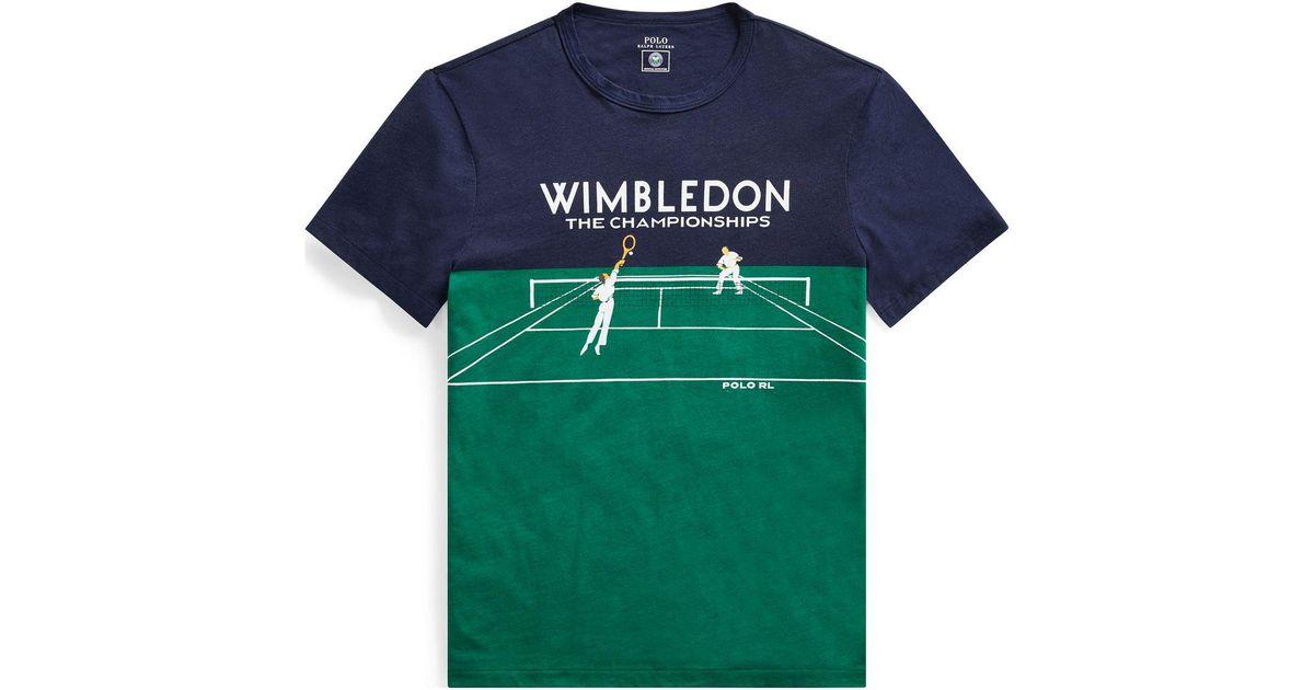 61de64f048 Polo Ralph Lauren Multicolor Wimbledon Custom Slim T-shirt for men