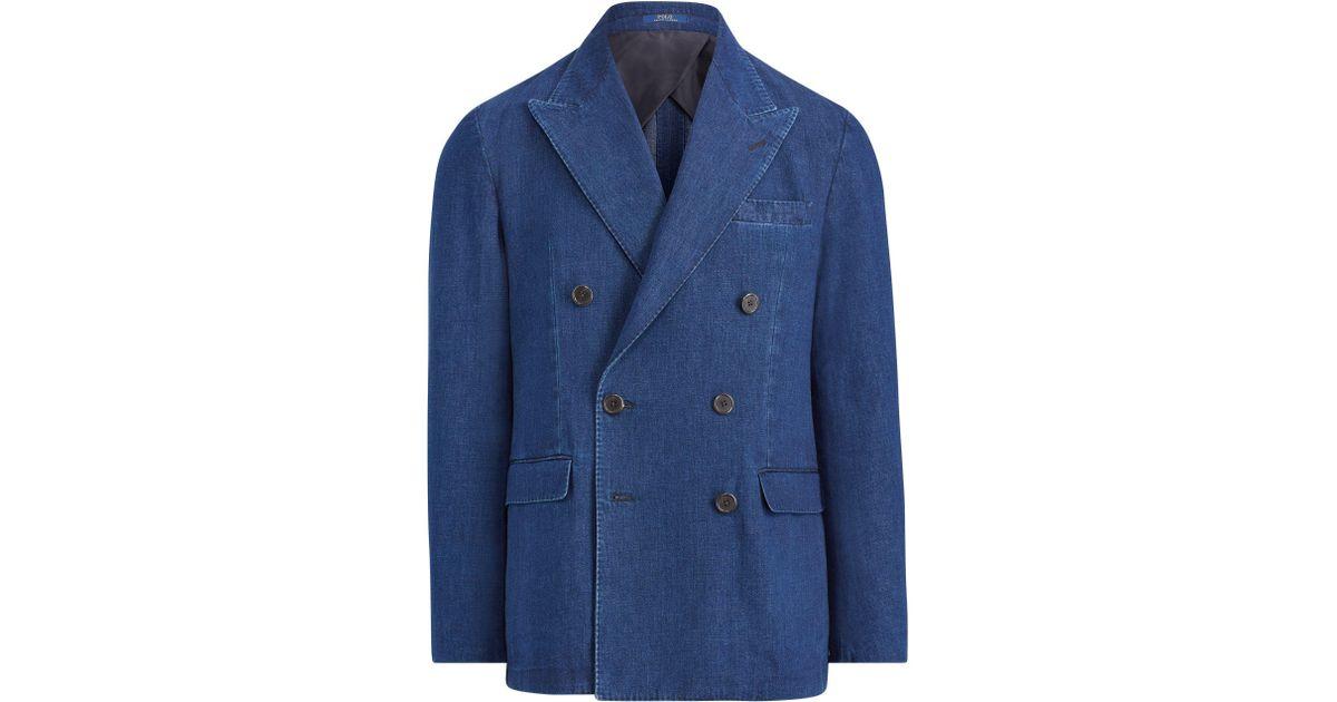 ec680cce Polo Ralph Lauren Blue Morgan Denim Sport Coat for men