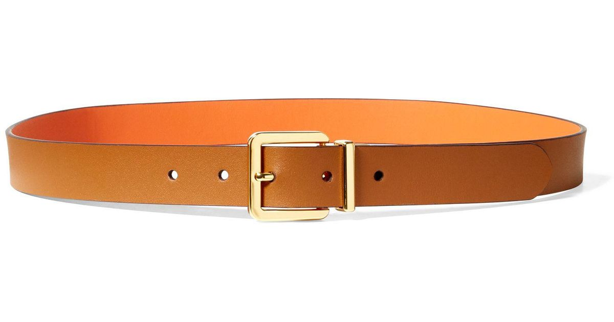 1a11480f5d Ralph Lauren Multicolor Dryden Reversible Leather Belt