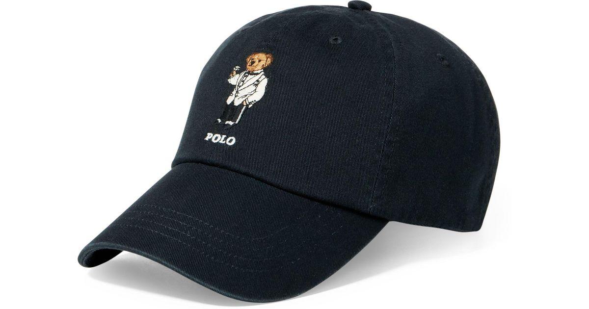 Polo Cap For Blue Martini Chino Ralph Lauren Bear Men thCsxQBrd