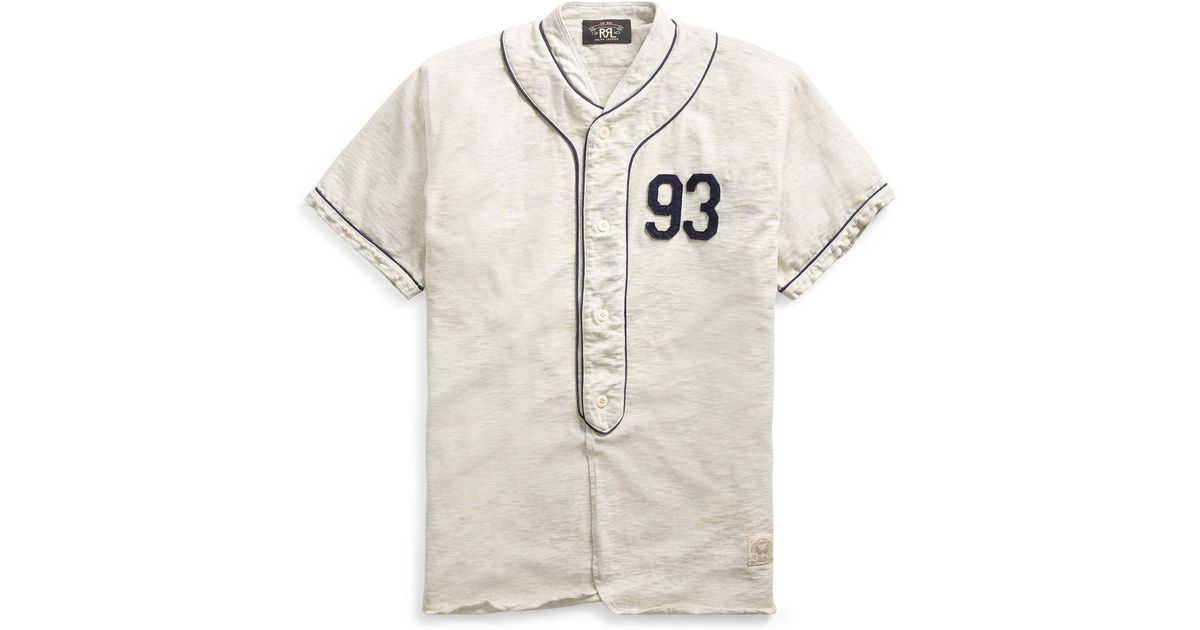 quality design 5517a 47c59 cotton baseball jersey