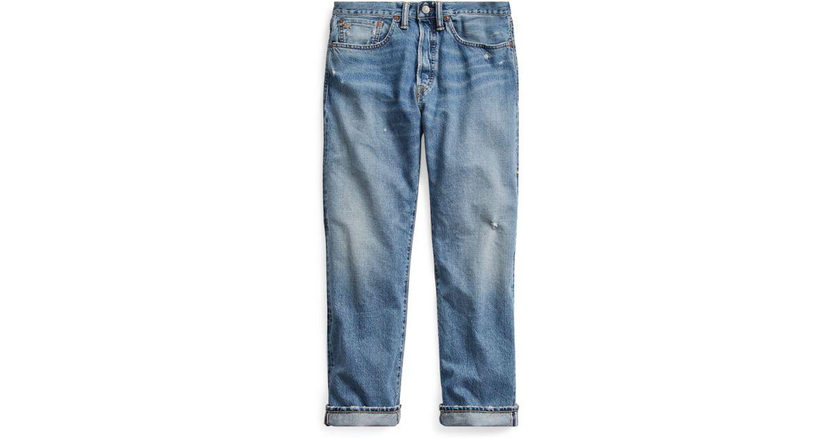 52e4c9af49 RRL Blue Boy Fit Selvedge Jean