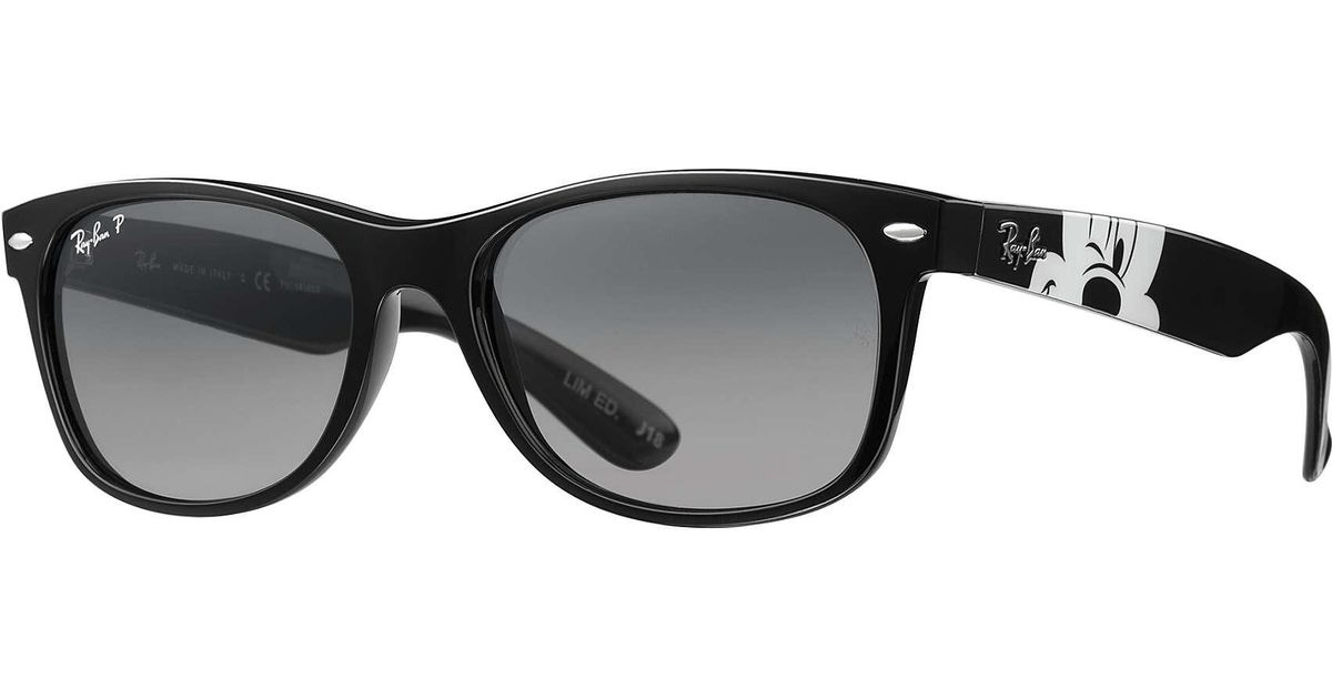 9486ff3746af Ray-Ban Rb2132 Mickey Mouse Collection in Black - Lyst