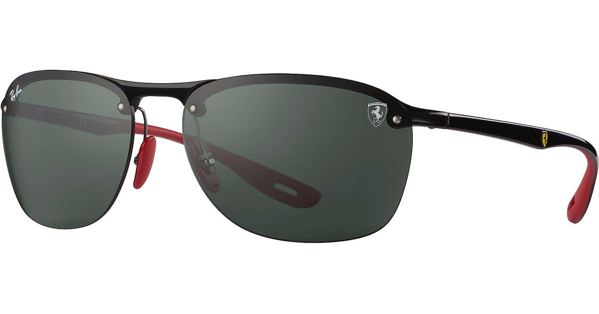 6307343f45aa Ray-Ban Scuderia Ferrari Collection Rb4302m in Black for Men - Lyst
