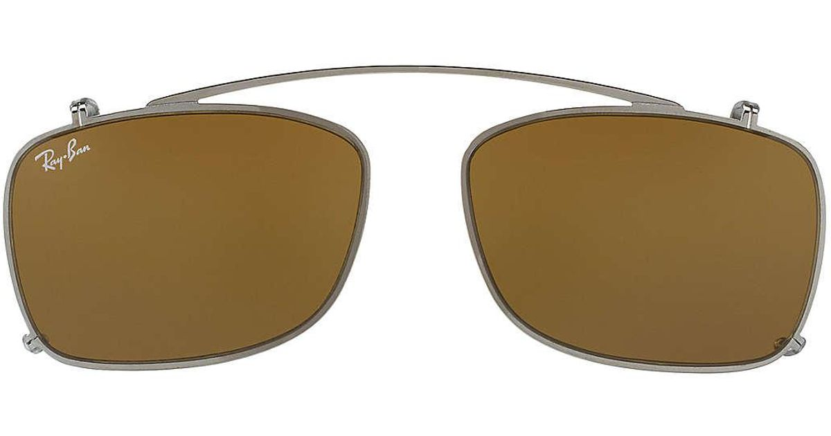 rb5228 ray ban clip on