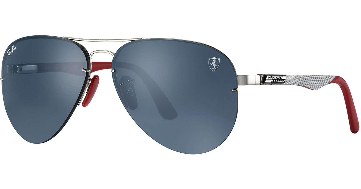 e42421ab5604c4 ... inexpensive lyst ray ban rb3460m scuderia ferrari collection for men  1d374 48c14
