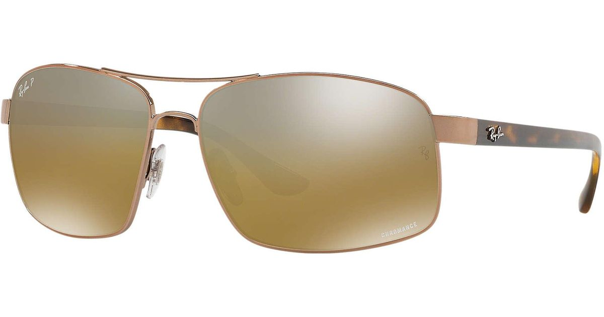 0389bf45465 Ray-Ban Rb3604ch in Brown for Men - Lyst