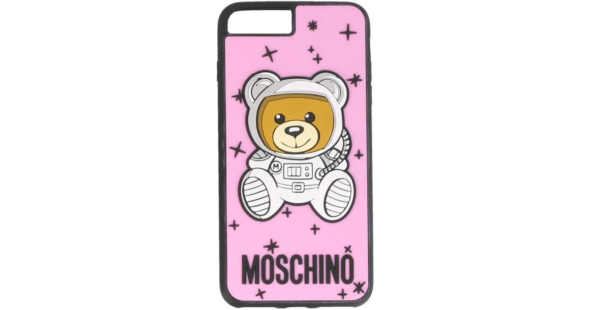competitive price a715b e80dd Moschino Pink Ufo Teddy Iphone 6/6s/7/8 Plus Case