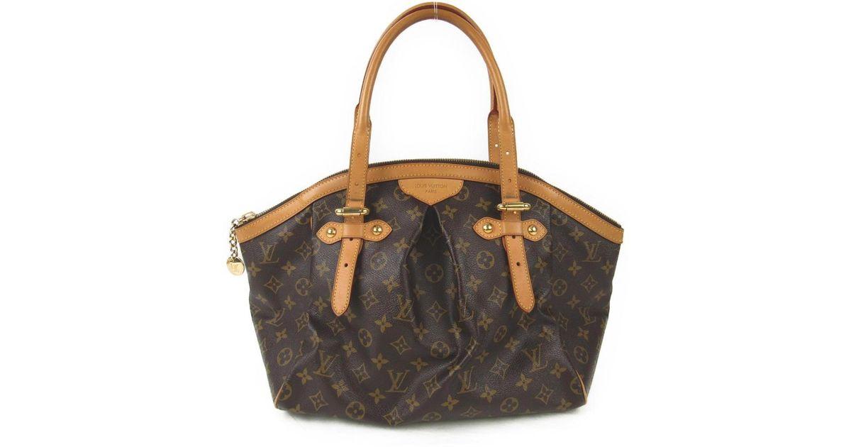 630ad91c6b2b Lyst - Louis Vuitton Auth Tivoli Gm Hand Shoulder Bag M40144 Monogram Canvas  in Brown