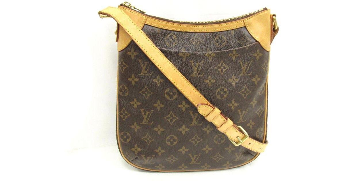 e1d12edc586 Louis Vuitton - Brown Odeon Pm Shoulder Bag Monogram Canvas M56390 - Lyst