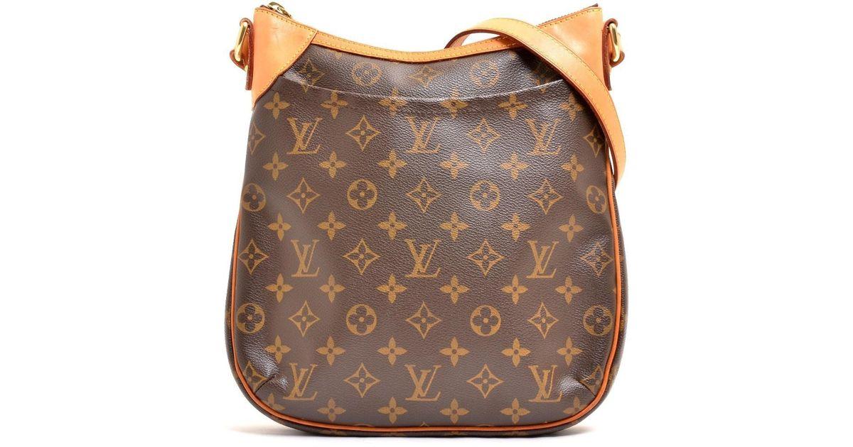 eb85b05bad7 Louis Vuitton Brown Monogram Canvas Odeon Pm Shoulder Bag M 56390