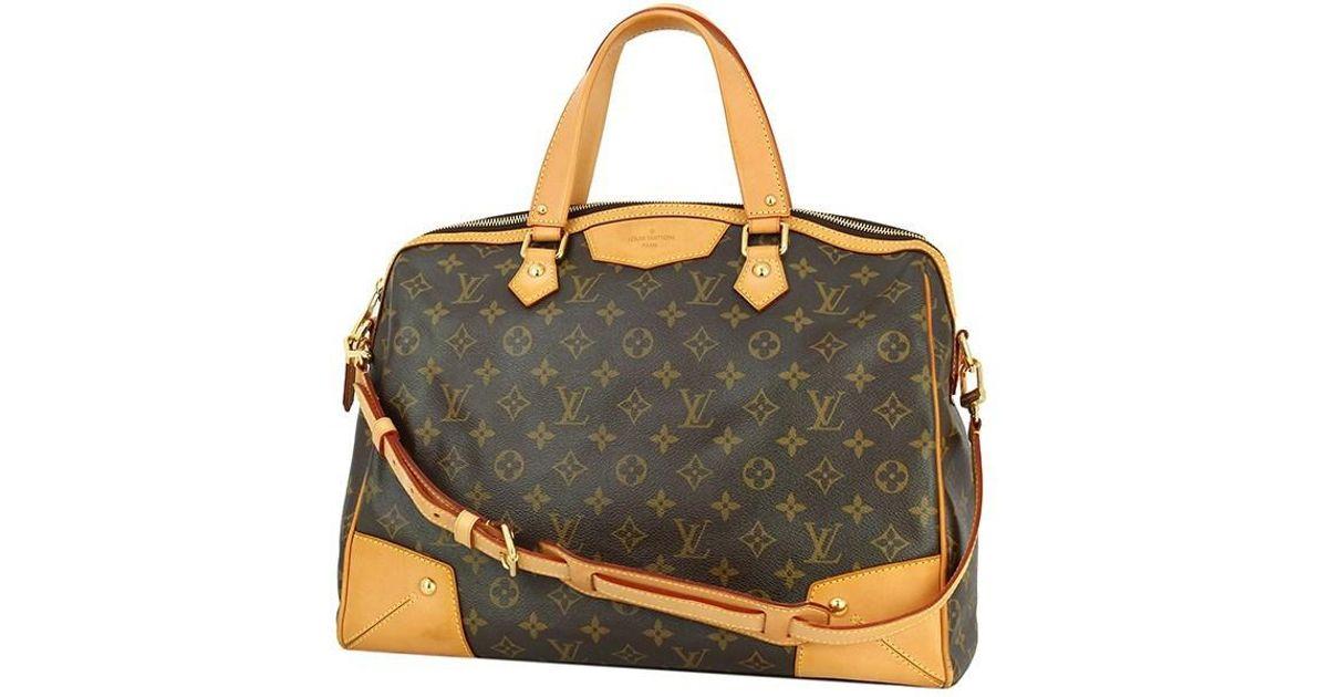 526af1c879b7 Lyst - Louis Vuitton Retiro Gm Monogram M40324 Shoulder Bag used  in Brown