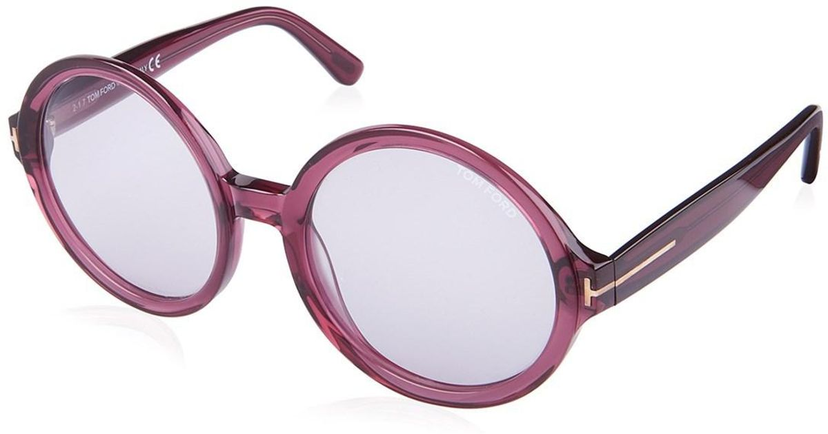 9a281b5ce4 Lyst - Tom Ford Sunglasses Violet Ft0369 s in Purple