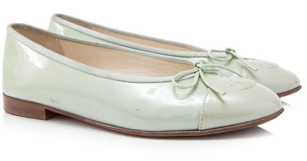 Pre-owned - Patent leather ballet flats Chanel dedRM0Q