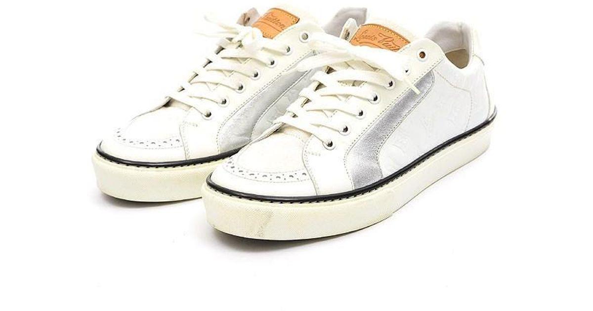 e4fe26978762 Lyst - Louis Vuitton Sneaker Men s White   5 in White for Men