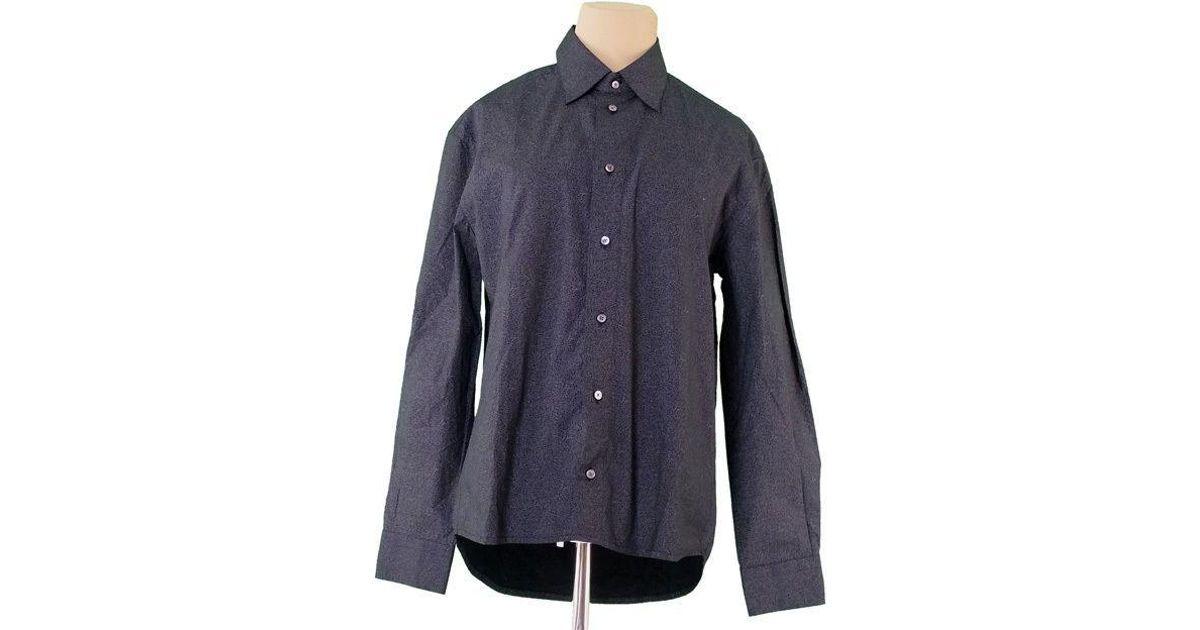 ec1d203d Louis Vuitton Shirt Print Mens Used T1422 in Black for Men - Lyst