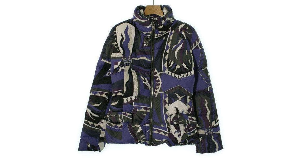3495a11e91e0 Lyst - Emilio Pucci Down Jacket  Down Vest Blue 40 in Blue