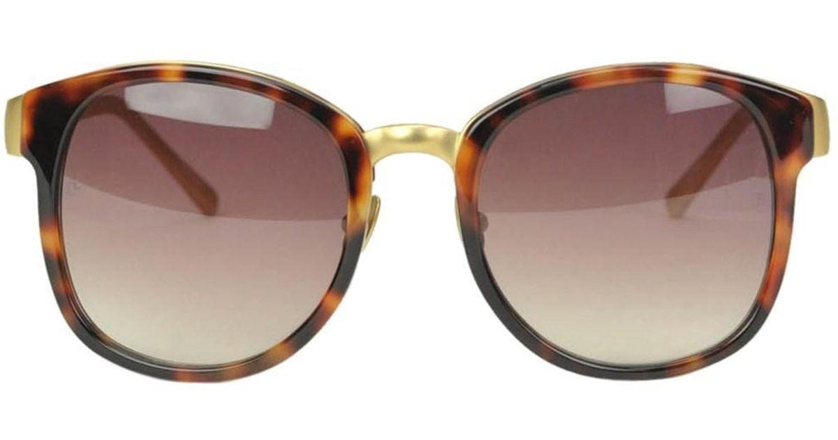 Lfl259c5 Linda Metal Farrow Acetate And Sunglasses Brown f7gyYvb6