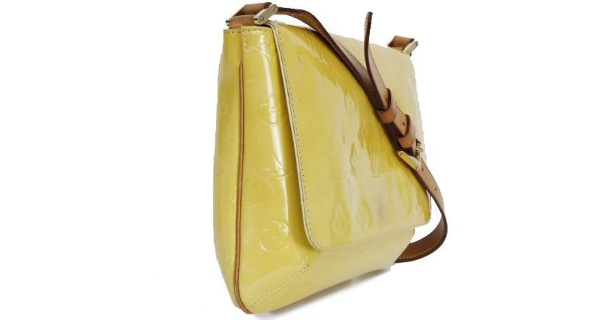 0a0ba34d06d8 Lyst - Louis Vuitton Thompson Street   M91071   Lime Yellow in Yellow