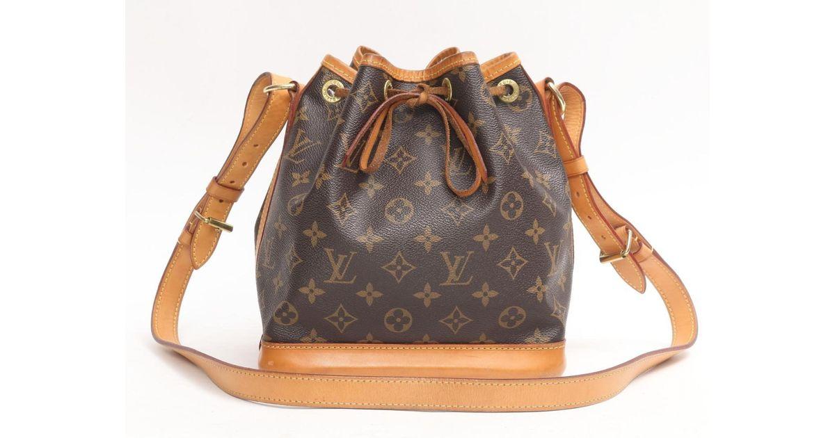 da362cf28fd ... Lyst Louis Vuitton Noe Bb Shoulder Drawstring Bag M40817 Monogram