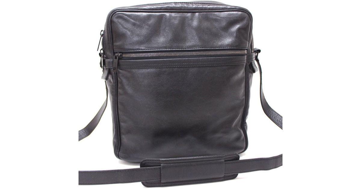 df2ae73d Louis Vuitton Differ Clarkson Crossbody Men's Collection Shoulder Bag  Black/tiffany Black Leather M92402 for men