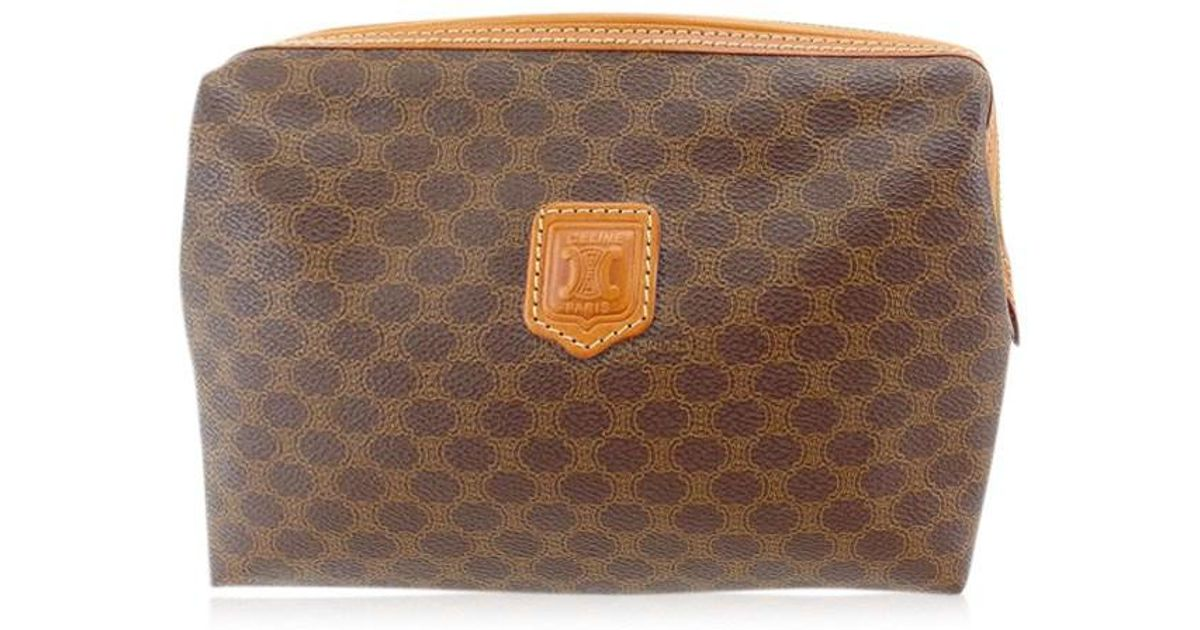 b7570ce944e2 Lyst - Céline Bag Second Hand Bag Unisexused Y3440 in Brown