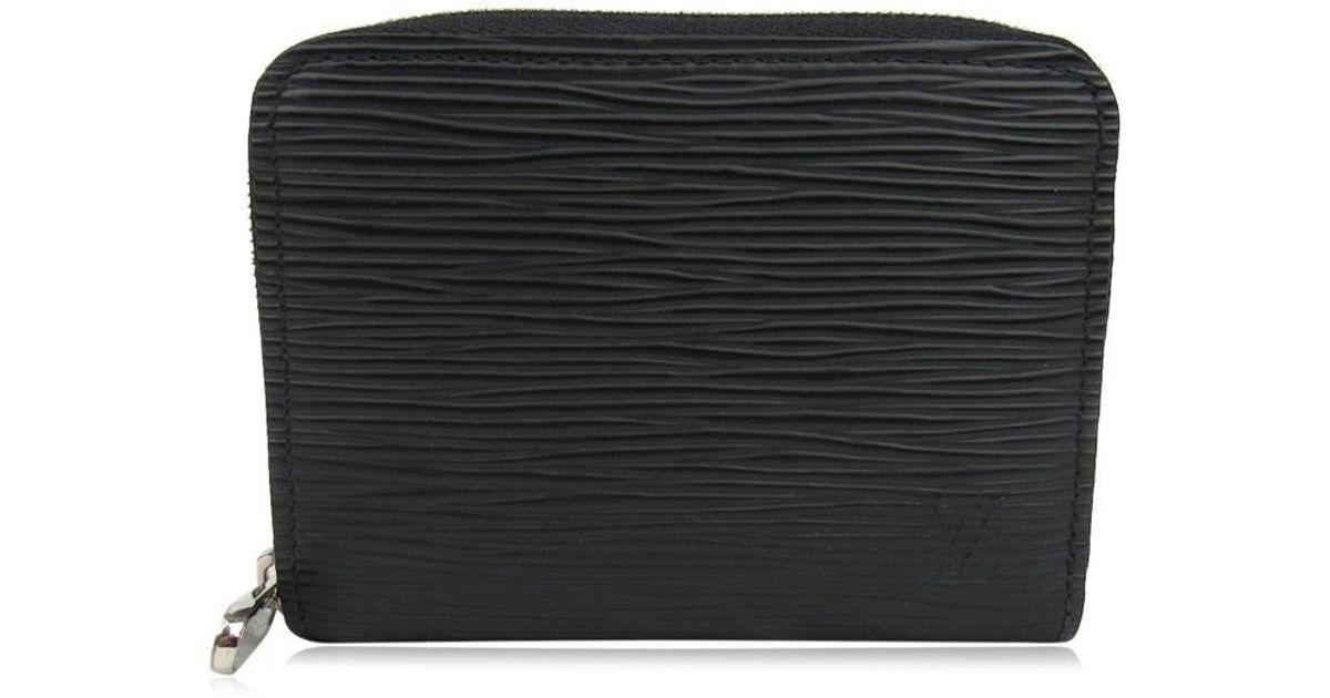 Lyst - Louis Vuitton Zippy Coin Purse Coin Case Epi Leather Black M60152 in  Black c8b9ff0a1de