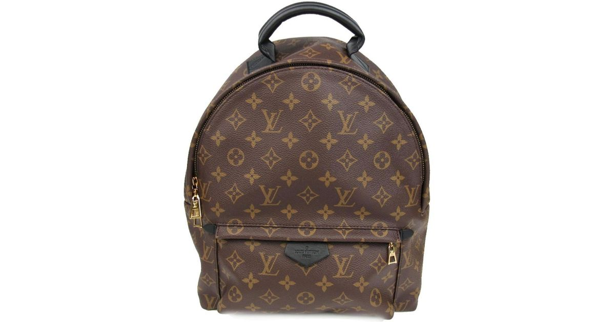 8500646ca8279 Louis Vuitton Palm Springs Backpack Mm Back Bag Monogram Canvas M41561 in  Brown - Lyst