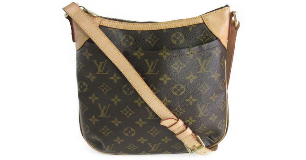 bb408251d53 Louis Vuitton - Brown Odeon Pm Crossbody Shoulder Bag M 56390 Monogram  Canvas - Lyst