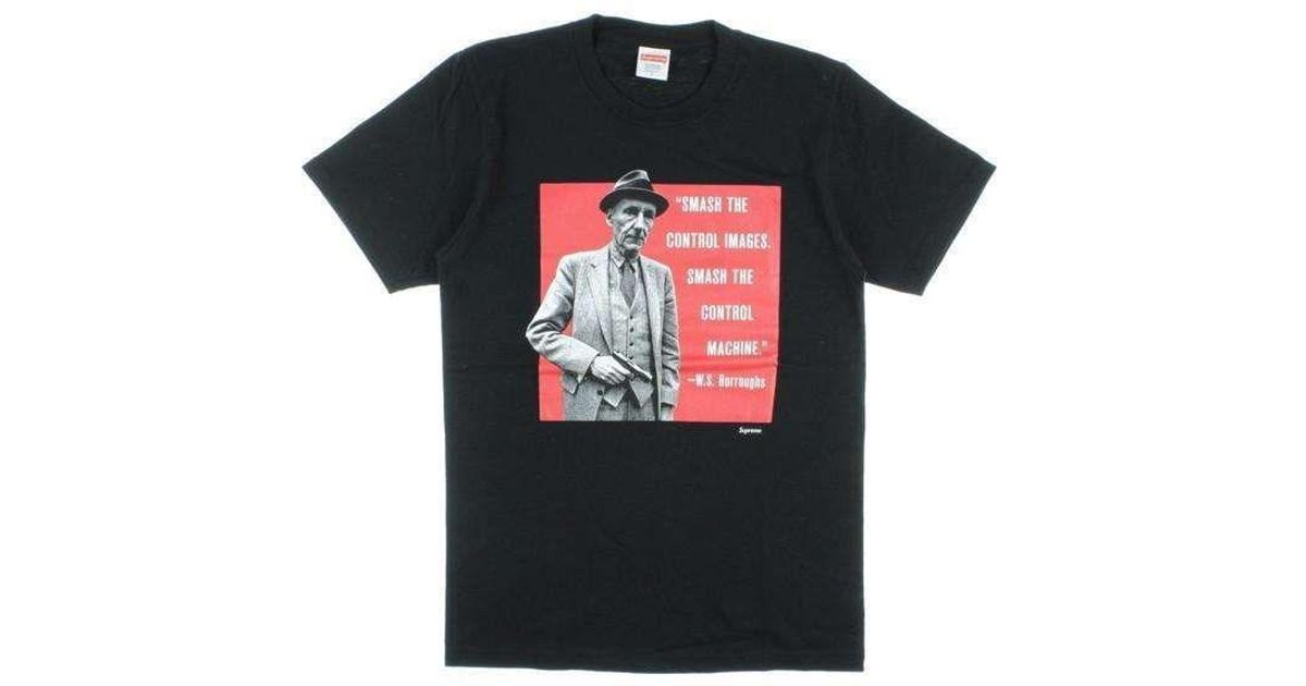 Lyst - Supreme T Shirt Black S in Black for Men 890479268
