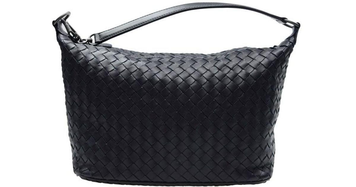 f4143c7a18 Lyst - Bottega Veneta Authentic New Handbag 239988 V0016 4066 Lambskin Dark  Blue in Blue