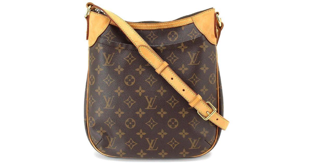 b5af11ba7dc Louis Vuitton - Brown Monogram Odeon Pm Shoulder Bag M56390 Purse  90035328.. - Lyst
