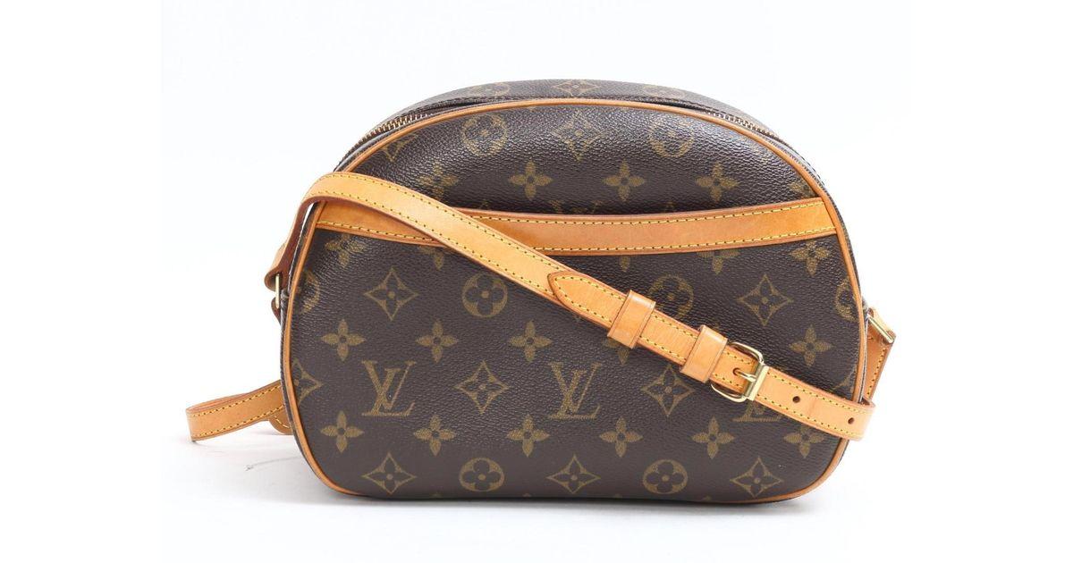 bc00d91ffb Louis Vuitton Brown Blois Crossbody Shoulder Bag Monogram Canvas M51221