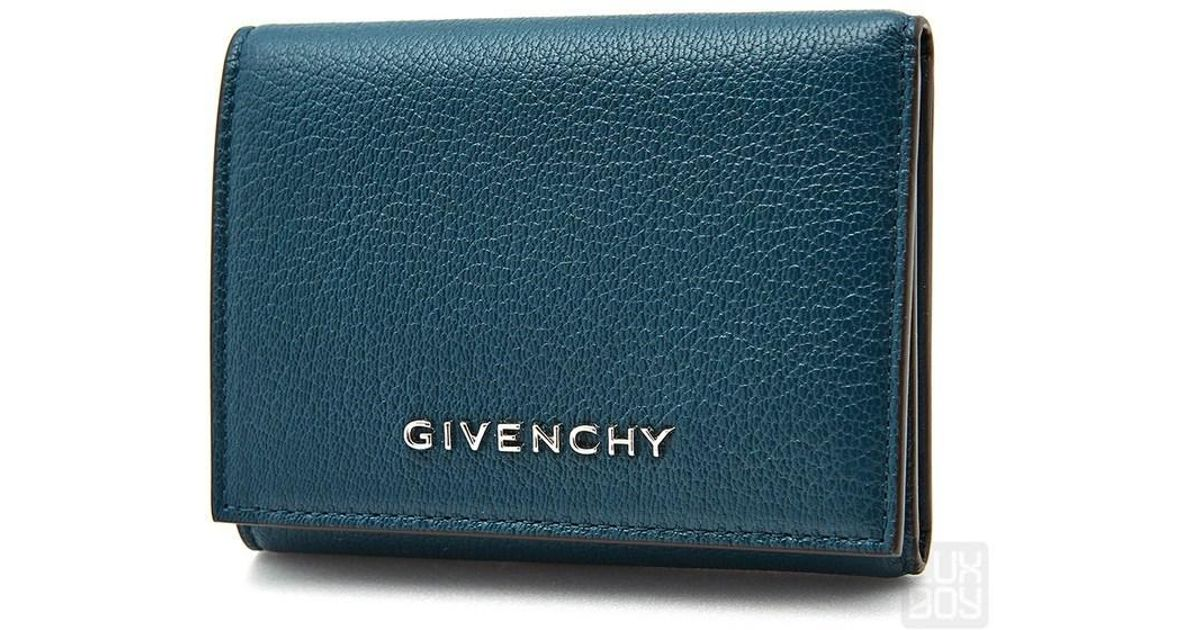 c24d0887cb5 Givenchy Women's Bifold Wallet in Black - Lyst