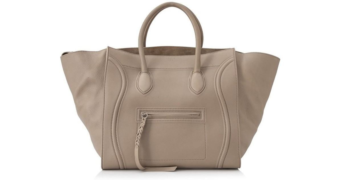 Lyst - Céline Pre-owned Céline Large Phantom Luggage in Natural 321f8b37a43ce