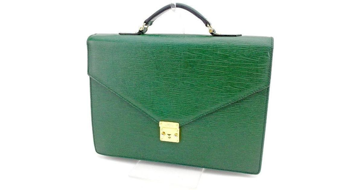 Lyst - Versace Business Bag Mens Used T1530 in Green for Men 41dcb363f5