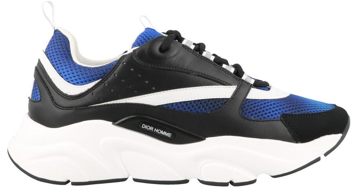 Dior B22 Sneakers in Blue for Men - Lyst