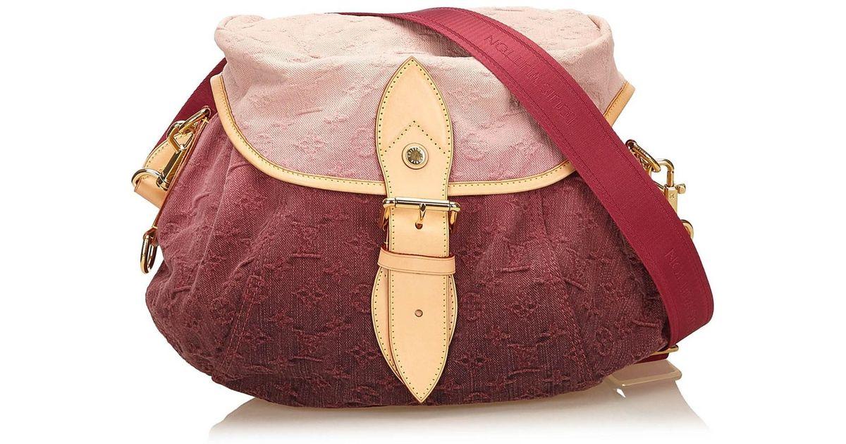 6e5030ddedd65 Lyst - Louis Vuitton Monogram Denim Sunshine in Pink