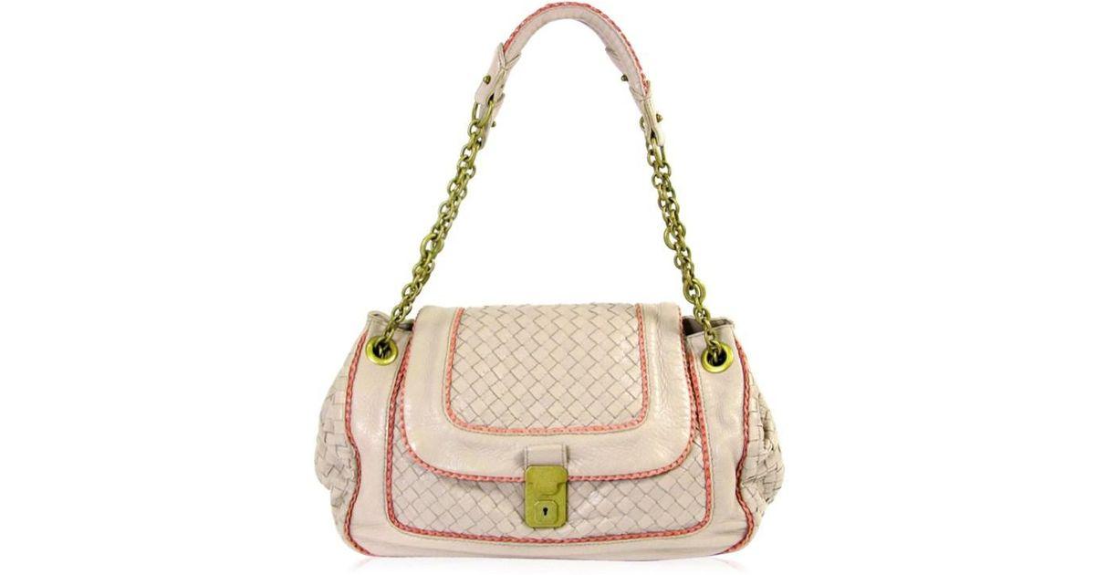 Bottega veneta Shoulder  bag Lumb Leather Pink 172027v9094 6871 in Pink    Lyst cdd21ec162