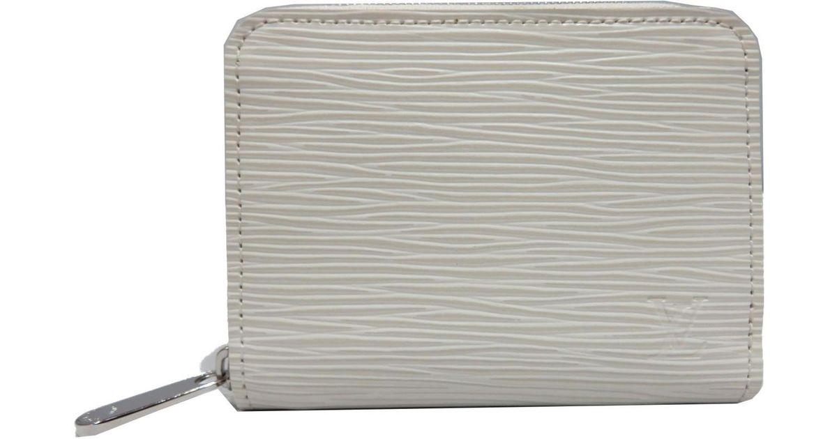 Lyst - Louis Vuitton Epi Leather Zippy Coin Purse Cream M6015j in White 07de92f6c26