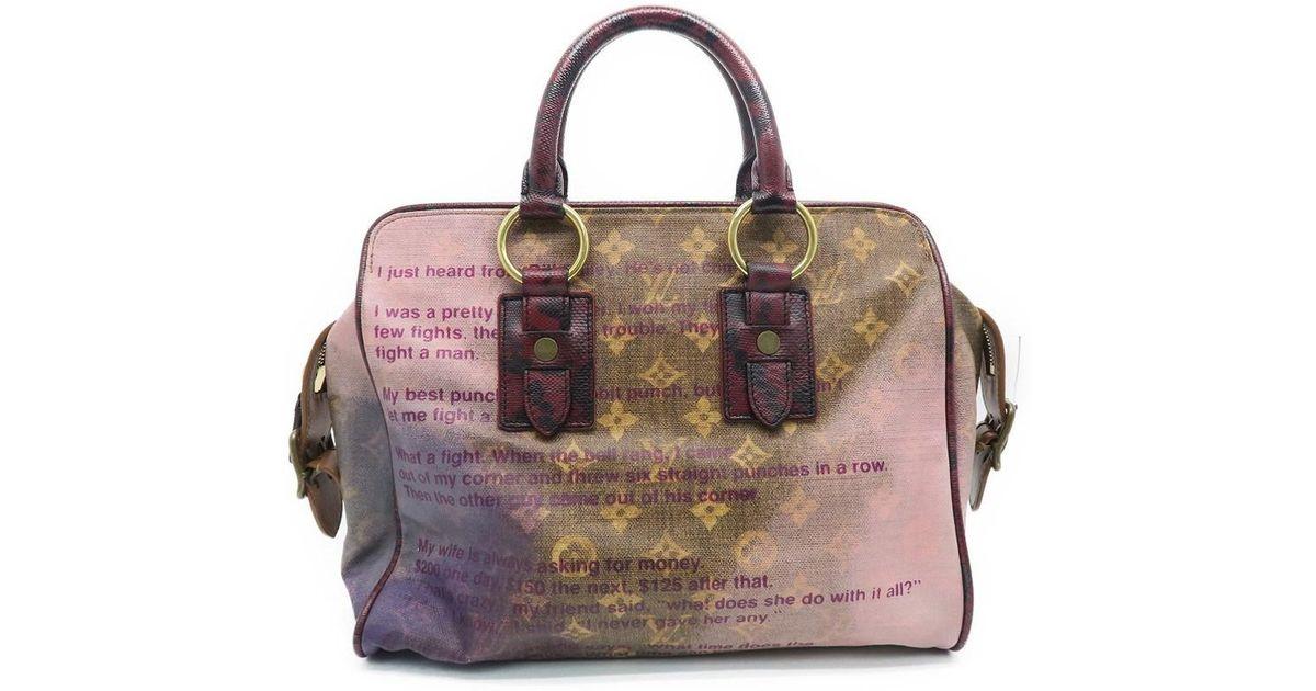 Lyst Louis Vuitton Monogram Jokes Graduate Tote Bag Handbag Brown