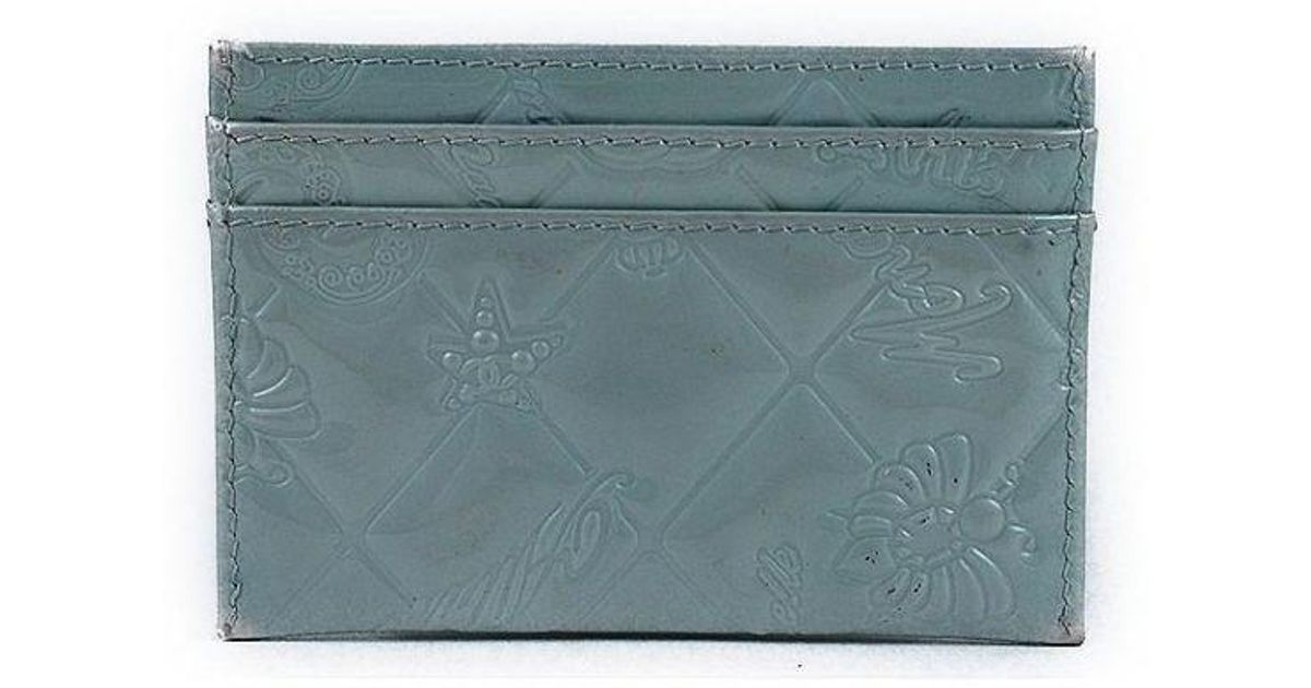 Lyst Chanel Icon Line Card Case Business Card Holder 100