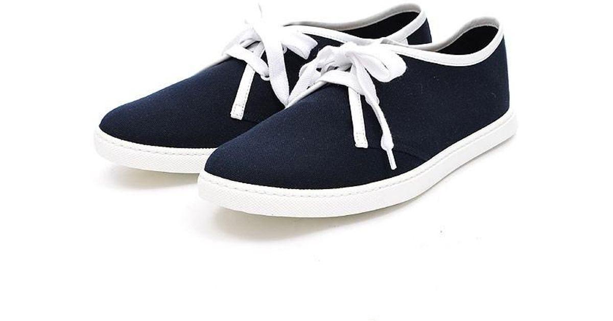 Hermès One Sneaker Cotton Canvas # 41 1