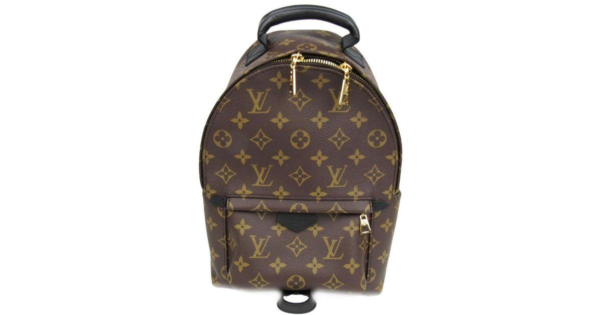 c12122097d8e Lyst - Louis Vuitton Palm Springs Backpack Pm Rucksack Backpack M41560  Monogram Noir in Brown