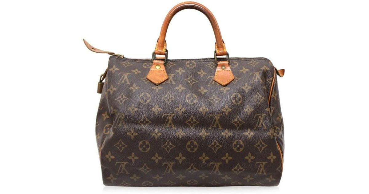 7d5a8cbe Louis Vuitton Monogram Speedy 30 Mini Duffle Bag Men's Hand Bag Brown  Monogramcanvas M41526 for men